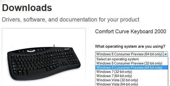microsoft mouse downloads