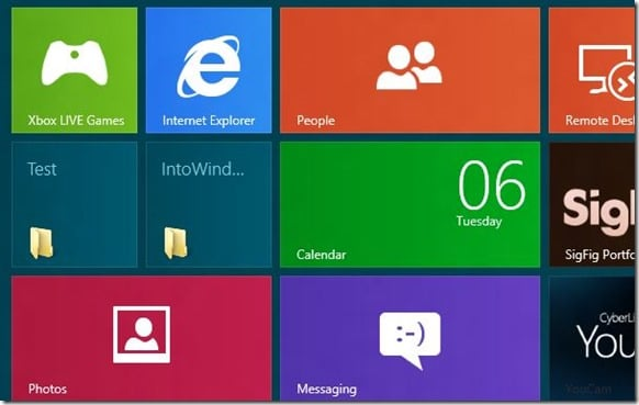 Pin Folders To Windows 8 Start