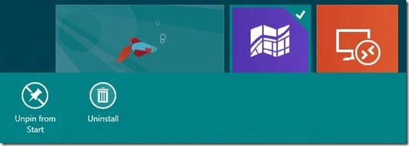 Prevent Users from uninstalling apps in Windows 8