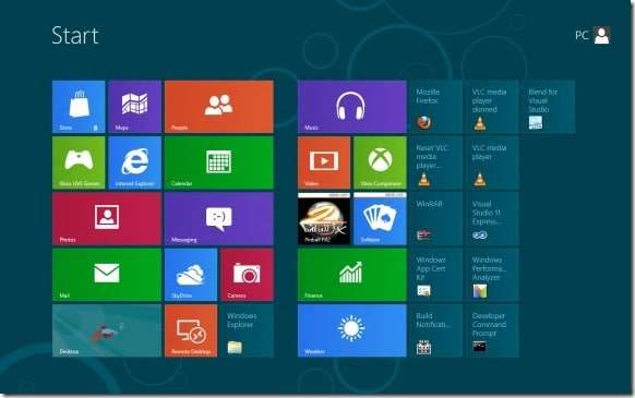 Skip Windows 8 Start Screen