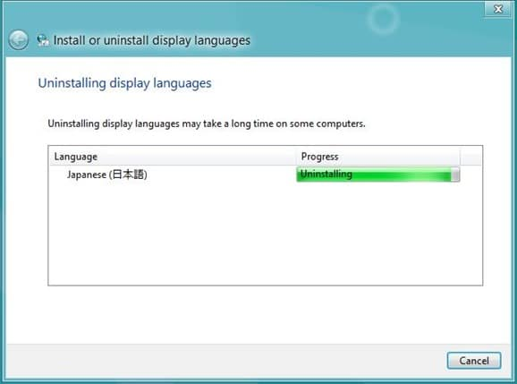 Uninstall Windows 8 Language Pack step6