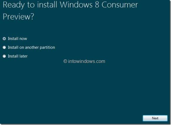 Upgrade Windows 7 To Windows 8 step5