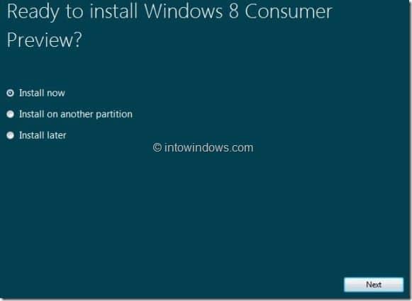 Upgrade Windows 7 To Windows 8 step5