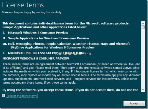 Upgrade Windows 7 To Windows 8 step6