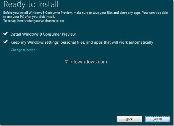 Upgrade Windows 7 To Windows 8 step8