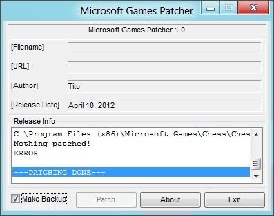 Play Windows 7 Games In Windows 8