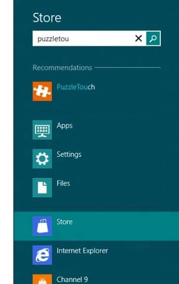 How To Search Windows 8 App Store