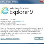 How To Uninstall Internet Explorer 9 Browser When The Standard Uninstallation Procedure Doesn't Work