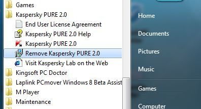Uninstall Kaspersky Pure pic4