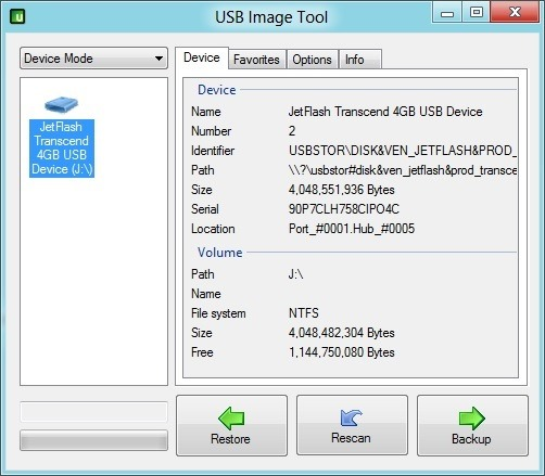 Backup Bootable USB Drive