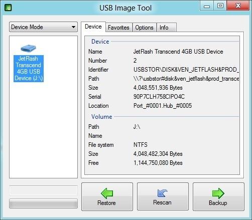 Backup Bootable USB Drive