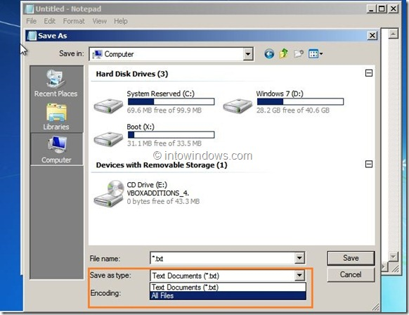 Backup Data Without Booting into Windows Step9