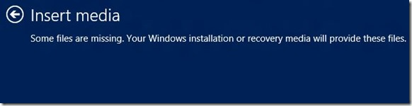 Reset or Refresh Windows 8 PC Withtout DVD Step11
