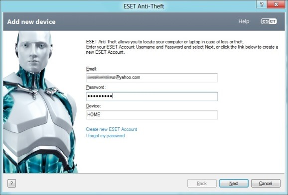 Track Stolen Laptop Using ESET Anti Theft First