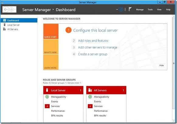 Windows Server 2012 Troubleshooting Guides