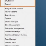 Add Shutdown, Restart and Hibernate To Win + X Menu In Windows 8