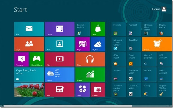 Disable Windows 8 Metro Features