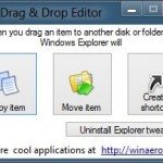 How To Customize The Drag-And-Drop Behaviour In Windows