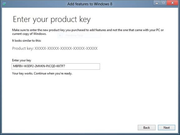 Enable Media Center in Windows 8 Step2
