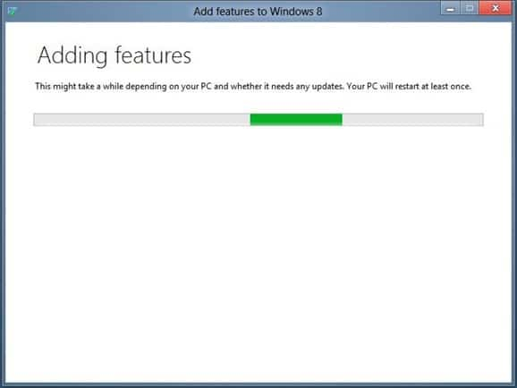 Enable Media Center in Windows 8 Step4