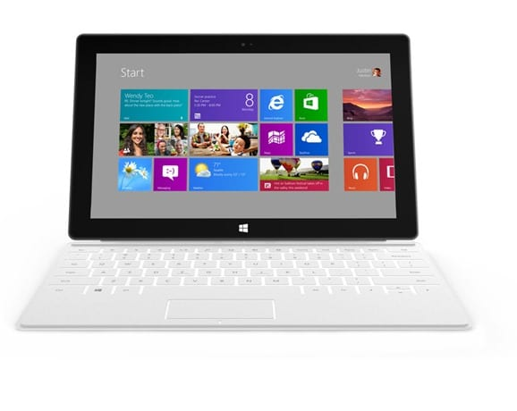 Surface tablet specifications