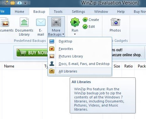 WinZip for Windows 8 Picture2