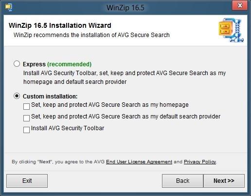 WinZip for Windows 8