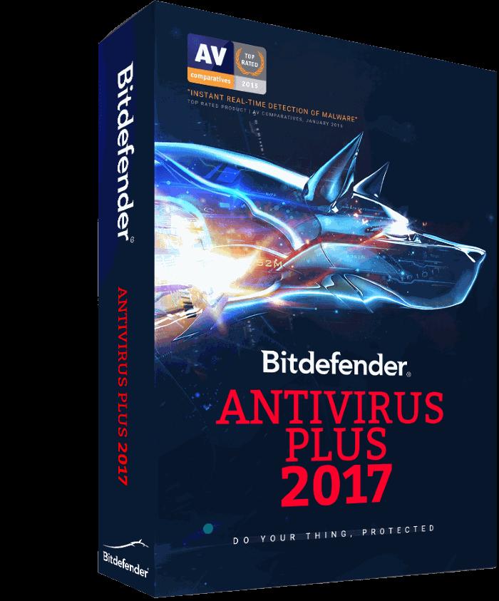 bitdefender antivirus plus for Windows 10