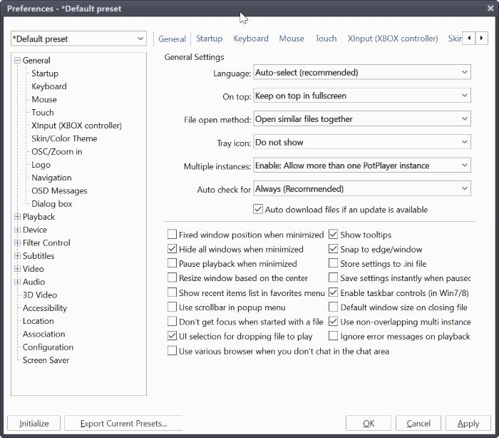 Download PotPlayer For Windows 10