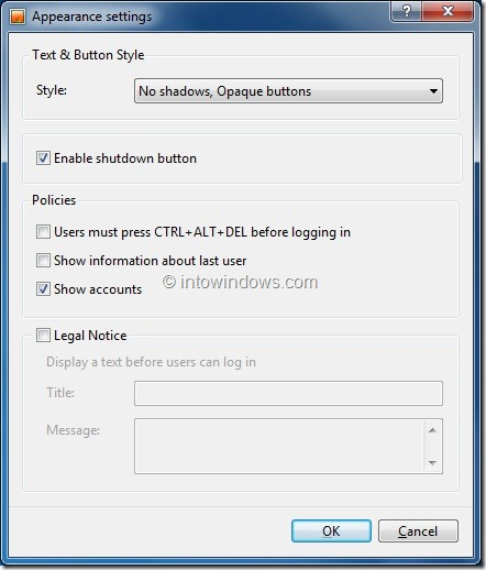 Every Windows user knows how to set a picture as  Add Set As Logon Background Option To Windows 7 Context Menu