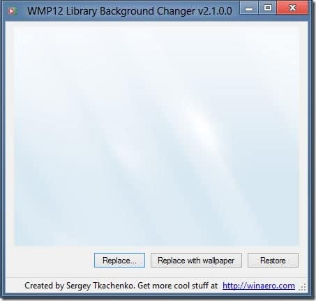 how to change library background in windows 7