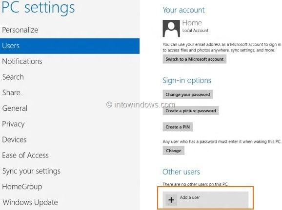 Create Microsoft Account In Windows 8 Step3