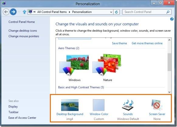 Create Windows 8 Theme Step1