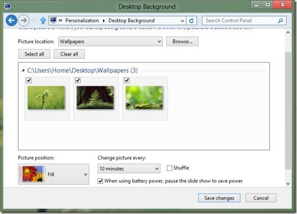 Create Windows 8 Theme Step2