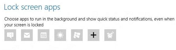 Customize Windows 8 Lock Screen2