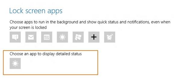 Customize Windows 8 Lock Screen3