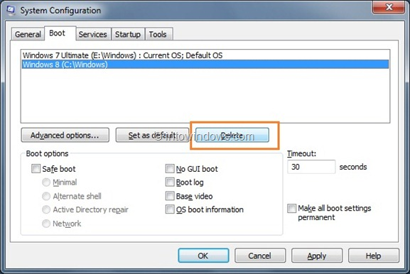 Enable Windows 8 Boot Menu Step22
