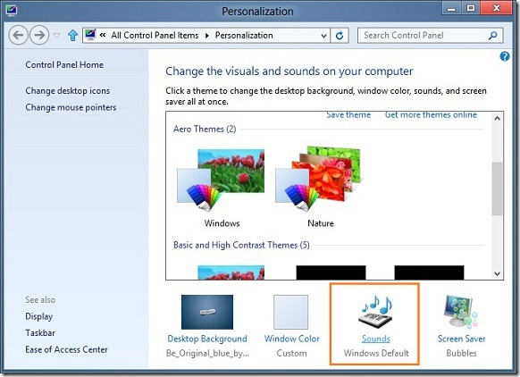 Enable Windows Startup Sound In Windows 8 Step2