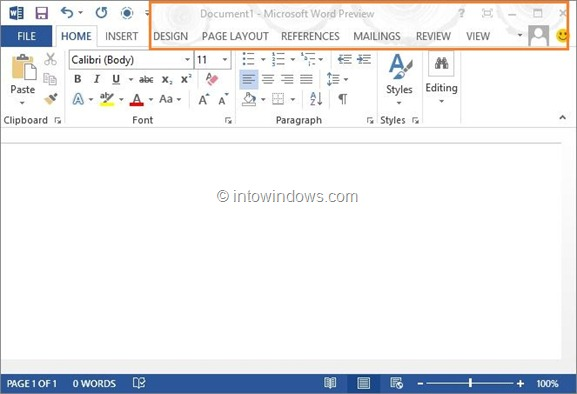 Office 2013 Background
