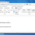 Sign In For Office Web Apps On SkyDrive Now