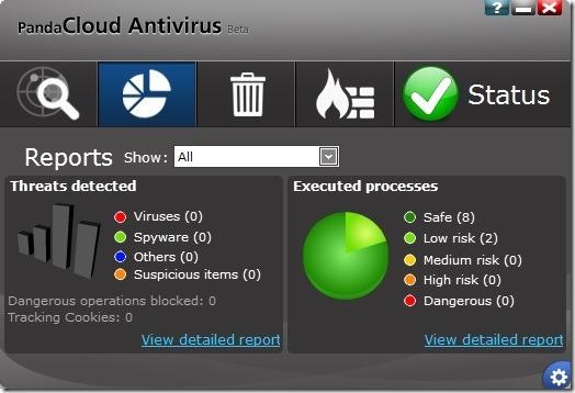 Panda Cloud Antivirus Free for Windows 8 Picture