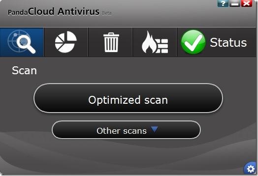 Panda Cloud Antivirus Free for Windows 8