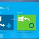 RecImg Manager: Restore Windows 8 Without Loosing Files And Apps (Free Backup Software For Windows 8)