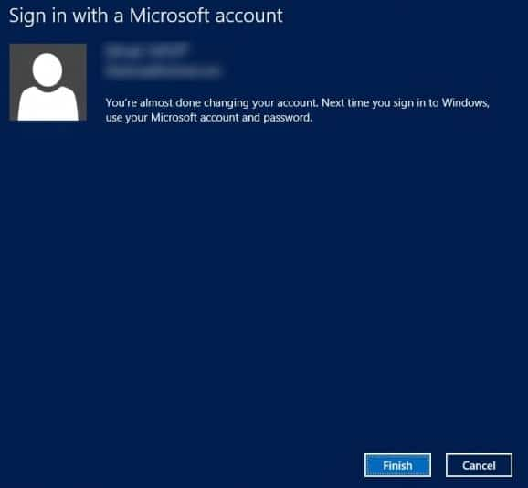 How To Switch Local Account To Microsoft Account In Windows 8