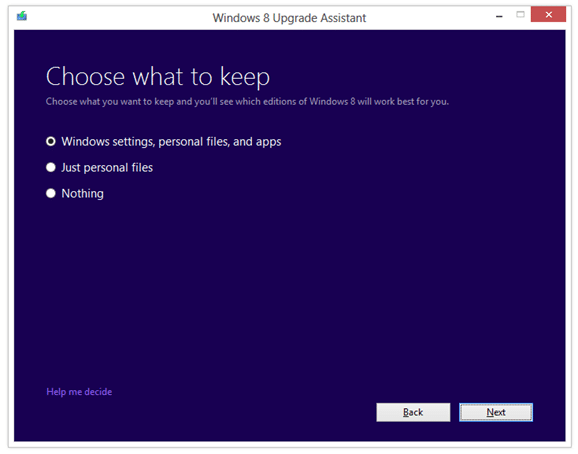 Microsoft has just announced that Windows XP Windows XP, Vista,  Windows 7 To Windows 8 Upgrade Options