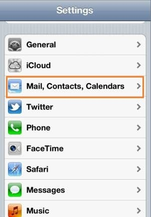 how do i setup my hotmail email account on my iphone