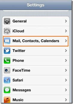 Add Outlook.com to iPhone