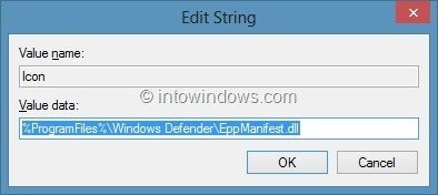 Add Scan With Windows Defender Windows 8 Step11