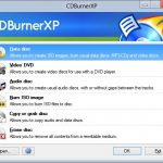 Download CDBurnerXP For Windows 8