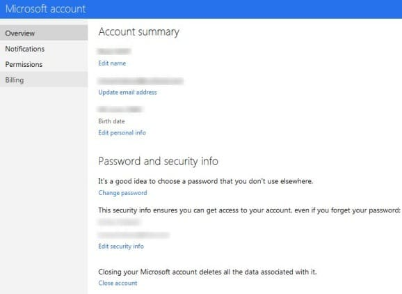 Change Outlook Account Password Step3